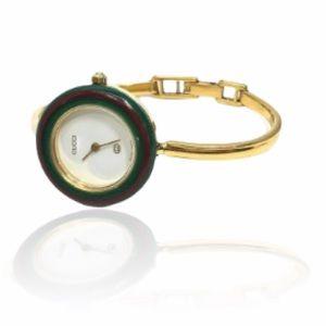 Auth GUCCI Vintage Interchangeable Bezel Watch